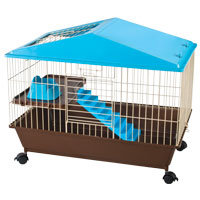 Ware Mfg Small Animal Cage with Attic