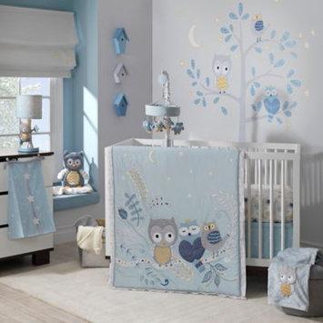 Lambs & Ivy Dena Night Owl 4-Piece Bedding Set
