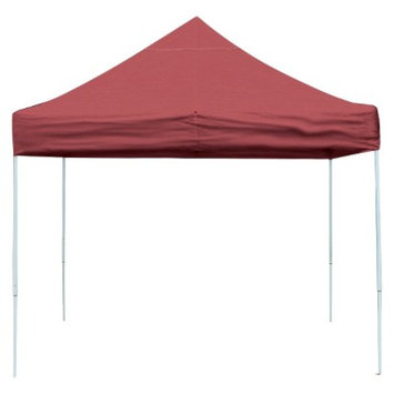 Shelter Logic 10x15 Truss Pro Pop-up Canopy Red Cover