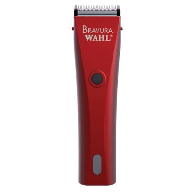 Wahl 41870-0436 Red Bravura Cord/Cordless Pet Clipper Kit by Wahl Professional Animal