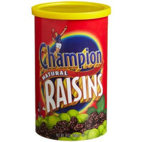 Champion Raisins Canister, 24-Ounce (Pack of 6)