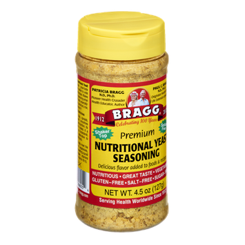 Bragg Premium Sodium Free Nutritional Yeast Seasoning