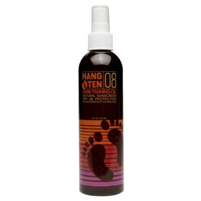 Hang Ten Dry Tanning Oil Natural Sunscreen SPF8