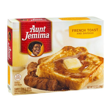 Aunt Jemima French Toast and Sausage