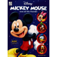 Disney Mickey Mouse and All His Friends: 400 Pages of Coloring Fun [Book]