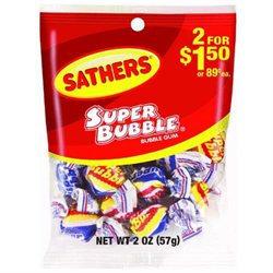 Sathers Candy Super Bubble Gum