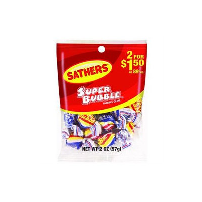 Sathers Candy Super Bubble Gum