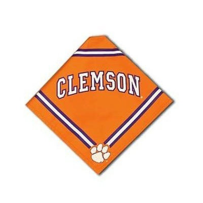 Sporty K9 Clemson Dog Bandana, Small