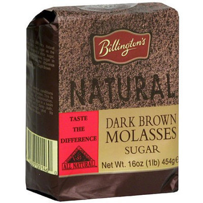 Billington's Dark Brown Molasses Sugar, 1 oz, (Pack of 10)