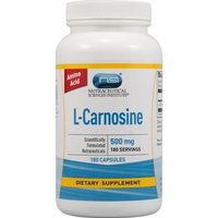 Vitacost Brand Vitacost L-Carnosine -- 500 mg - 180 Capsules