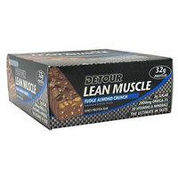 Detour Lean Muscle Bars - Fudge Almond Crunch