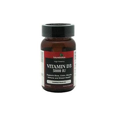 Futurebiotics - High Potency Vitamin D3 5000 IU - 90 Softgels