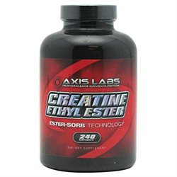 Axis Labs - Creatine Ethyl Ester - 240 Capsules