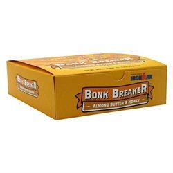 Bonk Breaker Energy Bar, 12/Box / ALMOND & BUTTER HONEY