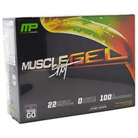 MusclePharm MUSFGELS0012VARILQ MuscleGel Shots 12 ct Variety