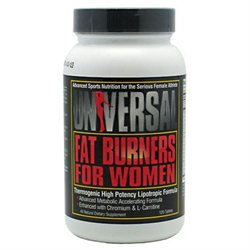Universal Nutrition - Fat Burners For Women - 120 Tablets