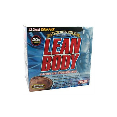 Labrada Nutrition, Lean Body, Chocolate Ice Cream Flavor, 42 Packets