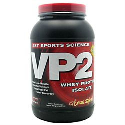 AST Sports Science 10067 Whey Protein Isolate Citrus Splash