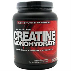 AST Sports Science Micronized Creatine Monohydrate - 2.2 lbs