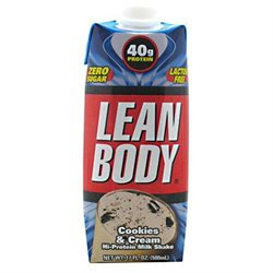 Labrada Nutrition Lean Body - 12 Shakes CookiesCream