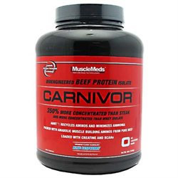 MuscleMeds Carnivor Beef Protein Fruit Punch - 4 lbs