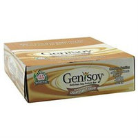 Genisoy Creamy Peanut Yogurt - 12 Bars - Meal Replacement Bars