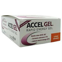 Pacific Health Accel Gel, Citrus Orange, 24 ct