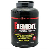 San 2570083 2.5 lbs Element Unflavored 100 Serving