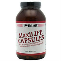 Twinlab MaxiLIFE Multi-Vitamin and Mineral Supplement - 200 Capsules