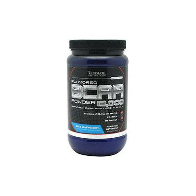 Ultimate Nutrition BCAA Powder 12000 Branched Amino Acid Formula, Blue Raspberry, 16.1 oz