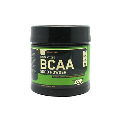 Optimum Nutrition Instantized BCAA 5000 Powder - Unflavored - 11.8 oz
