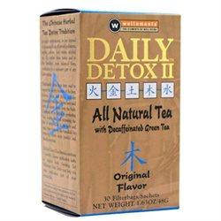 Daily Detox 1071190 Wellements II All Natural Tea Original - 30 Sachet