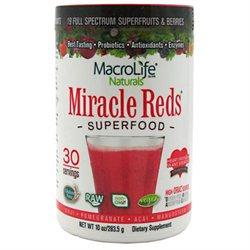 Macrolife Naturals Inc Macrolife Naturals 0793794 Miracle Reds Berry - 10 oz