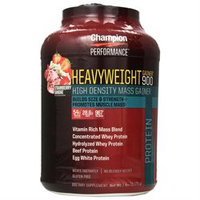 Champion Nutrition - Heavyweight Gainer 900 Strawberry Shake - 7 lbs.