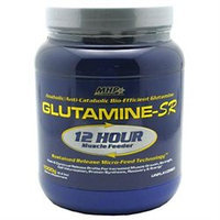 Maximum Human Performance, Inc. MHP Glutamine-SR, 12 Hour Muscle Feeder, 1000 g, Maximum Human Performance