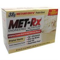 Met-Rx Meal Replacement Packets Original Vanilla
