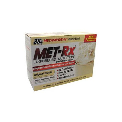 Met-Rx Meal Replacement Packets Original Vanilla