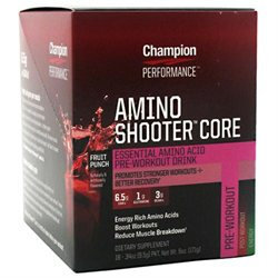 Champion Nutrition Amino Shooter Core Punch - 18 Packets