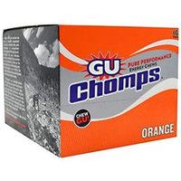 GU Chomps Energy Chews 16-Pack Orange, 16/box