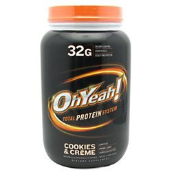 ISS Research OhYeah Total Protein System - 2.4 Lbs. - Cookies Cream