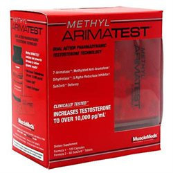 MuscleMeds Methyl Arimatest - 120 Capsules 60 SubZorb Tablets