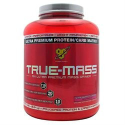 BSN True-Mass Gainer Strawberry - 5.75 lbs