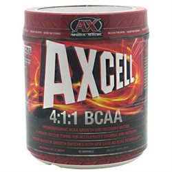 Anabolic Xtreme Axcell 4:1:1 Bcaa Artic Berry - 440 Grams Powder - Endurance Support