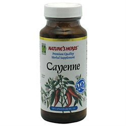 tures Herbs Nature's Herbs Cayenne - 1350 mg - 100 Capsules