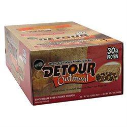 Forward Foods, Llc Forward Foods 3940017 Detour Oatmeal Bar Chocolate Chip Cookie Dough 12 Bars