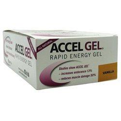 Accelerade Accel Gel Vanilla 24 pckts