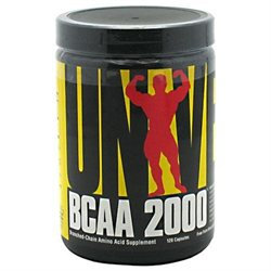 Universal Nutrition BCAA 2000 Capsules - 120 Count