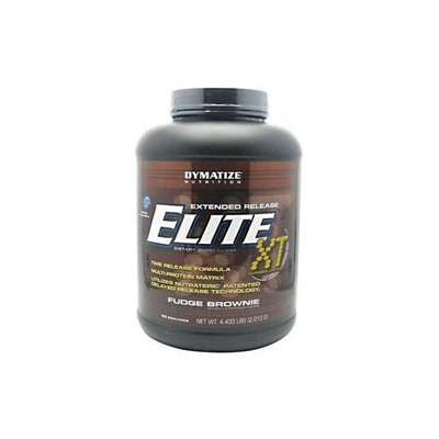 Dymatize Nutrition Elite Xt Fudge Brownie - 4.4 Pound Powder - Protein Shakes