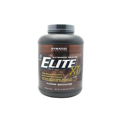 Dymatize Nutrition Elite Xt Fudge Brownie - 4.4 Pound Powder - Protein Shakes