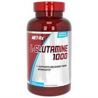 Met-Rx L-Glutamine 1000mg, Capsules, 100 ea